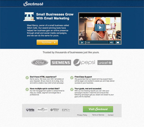 26 Beautiful Landing Page Designs With A/B Testing Tips   AboutDigitalMarketing   Scoop.it