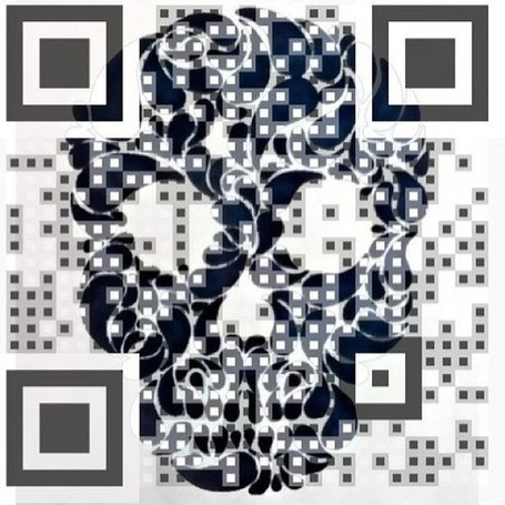 QR Skull Code | Vulbus Incognita Magazine | Scoop.it