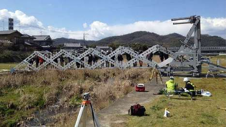 Scissoring origami-inspired bridge could help out in disasters | Innovation at the Verge | Scoop.it