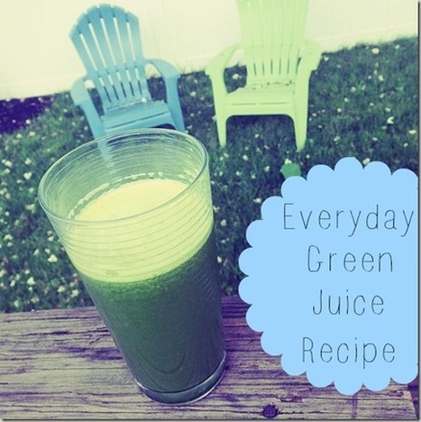 Everyday Green Juice + FAQs - Carrots 'N' Cake | My Juicing Journey | Scoop.it