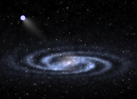 Nearest bright 'hypervelocity star' found | Tout est relatant | Scoop.it