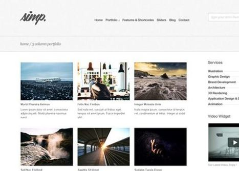 25 Best WordPress Themes of 2015 | Création, maintenance et animation de site et de blog | Scoop.it