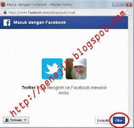 Cara Menghubungkan Akun Twitter ke Akun Facebook | World Pen | Scoop.it