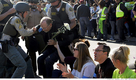 Wal-Mart protesters arrested at Black Friday rallies | GOP & AUSTERITY SUPPORTERS  VS THE PROGRESSION Of The REST OF US | Scoop.it