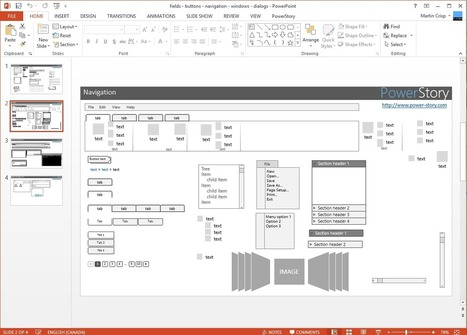 Free Wireframe Templates for PowerPoint… | Effective UX Design | Scoop.it