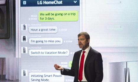CES 2014: LG unveils 'talking' washing machines | Talking things | Scoop.it