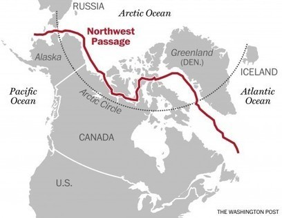 The Arctic is melting — but getting ships through the Northwest Passage is ... - Washington Post   Inuit Nunangat Stories   Scoop.it