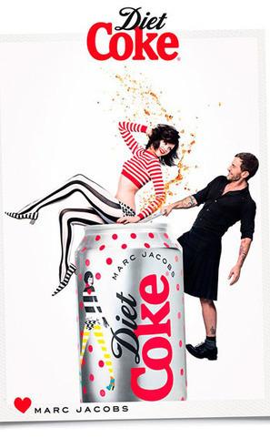Découvrez la campagne Coca Cola Light by Marc Jacobs | T.O.C. & Events | Scoop.it