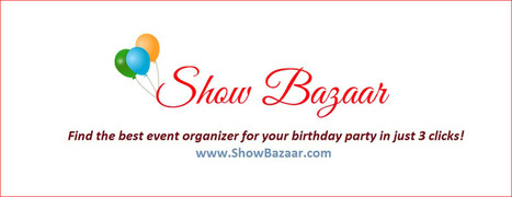 Birthday Party Organisers | Birthday Party Planners Bangalore - Show Bazaar | kitchen sinks | Scoop.it