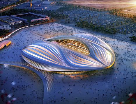zaha hadid discloses qatar 2022 FIFA world cup stadium design   Architecture   Scoop.it