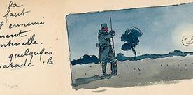 Carnet de poilu : dessine-moi la guerre, papa | GenealoNet | Scoop.it