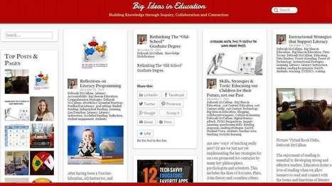 Potential Power of Blogging for Pedagogy - EdTechReview™ (ETR)   Dream, Believe, Inspire   Scoop.it