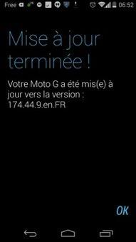 Le Moto G reçoit android 4.4.2 Kitkat en France - Android Culte | Moto G | Scoop.it
