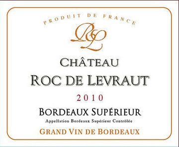 Roc de Levraut 2010 Bordeaux Supérieur