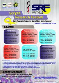 SCRIPTA RESEARCH FESTIVAL (SRF) 2014: KOMPETISI ILMIAH ( PENELITIAN, KARYA TULIS ILMIAH - GAGASAN TERTULIS, POSTER ILMIAH, POSTER PUBLIK, VIDEO EDUKASI, ARTIKEL POPULER )   service-ac   Scoop.it