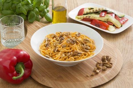 Pasta pesto peperoni e noce - My happy kitchen | La Cucina Italiana - De Italiaanse Keuken - The Italian Kitchen | Scoop.it