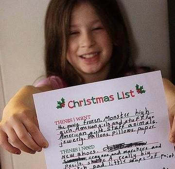 Dear Santa: Kids' holiday wish lists can be hilarious or heartbreaking - TODAY.com | Operation Santa Claus | Scoop.it