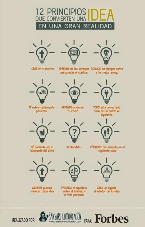 12 principios que convierten una idea en realidad | Edukn-do | Scoop.it