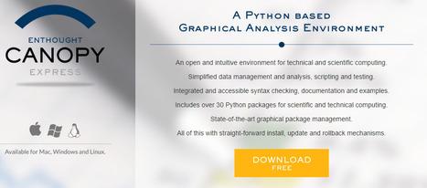 Mise à jour de la page d'introduction à Python avec Enthought Canopy comme nouvel EDI suggéré | CoursPython | Scoop.it