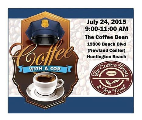 Join Huntington Beach Police Officers for Coffee with a Cop | Orange County Breeze | Police Problems and Policy | Scoop.it
