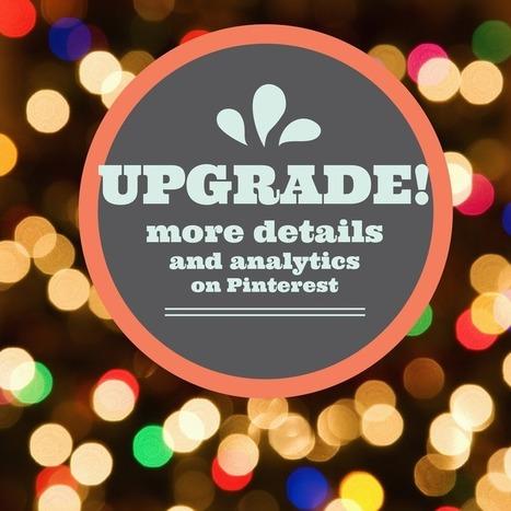 Pinterest Improves Analytics With Business Upgrade | Les Enjeux du Web Marketing | Scoop.it