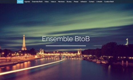 "Ensemble BtoB : les experts du Marketing BtoB se fédèrent en ""Think Tank"" | Marketing Automation avec Oracle Marketing Cloud — Eloqua by Aressy | Scoop.it"