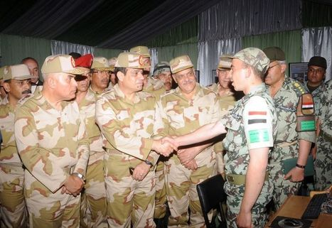 President, defence minister reject attempts to tarnish army's image | Égypte-actualités | Scoop.it