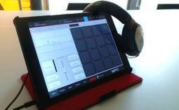 Atelier découverte Musique sur tablettes à la Médiathèque Olympe de Gouges (Strasbourg) | Musique en bibliothèque | Scoop.it