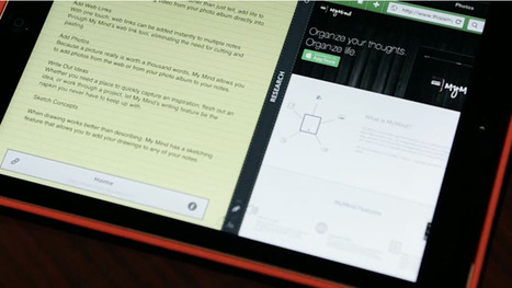 MyMind - Digilat note taking app for iPad | Commercial Software and Apps for Learning | Scoop.it