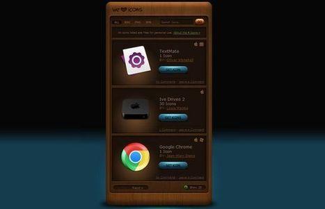 We Love Icons, variados iconos gratuitos para tus diseños o proyectos | Edunovatec | Scoop.it