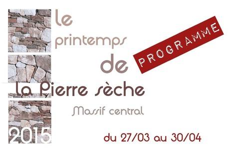 Printemps de la pierre sèche-Massif Central- 27/03 au 30/04 | pierresèche | Scoop.it