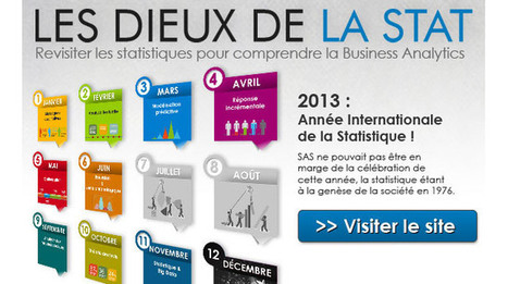 SAS France présente l'Année Internationale de la Statistique | Statistique | Scoop.it