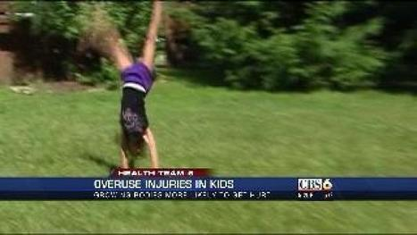 More young athletes getting 'overuse' injuries - wtvr.com | Athlete's Concussions | Scoop.it