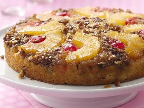 Quick Pineapple Upside-Down Cake | The Man With The Golden Tongs Hands Are In The Oven | Scoop.it
