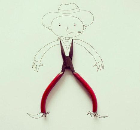 Javier Pérez et ses illustrations minimalistes | Web Design | Scoop.it