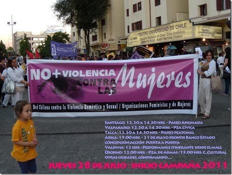 Lanzamiento de la Campaña Cuidado! El Machismo Mata – Chile | Cuidando... | Scoop.it