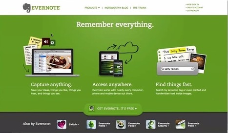 Everything Teachers Need to Know about Evernote (Great Tutorials) | iEduc | Scoop.it