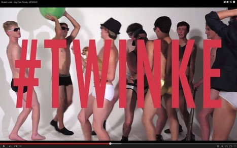 """""""Blurred Lines"""" gay porn version: This is the Robin Thicke parody we needed. 