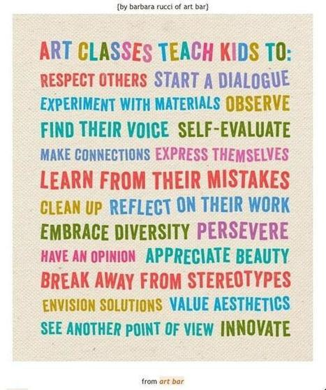 Twitter / mrszickartchick: Why is Art Education important? ... | Educational trends | Scoop.it