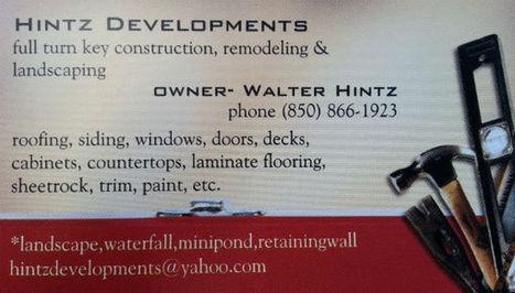 HINTZ DEVELOPMENTS | HINTZ Developments | Scoop.it