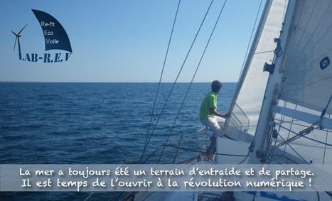 Lab-REV: le voilier laboratoire ambassadeur de la révolution numérique! | FabLab - DIY - 3D printing- Maker | Scoop.it