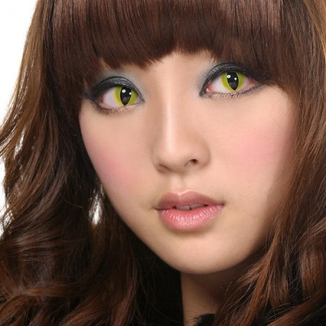Find Crazy Contact Lenses Attractive Eyes - Sclera Lenses | Sclera Lenses | Scoop.it