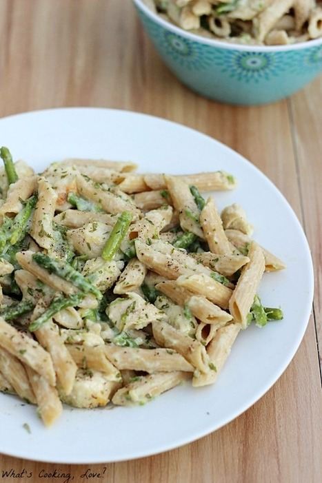 Healthy Chicken Penne Alfredo | Healthy Cooking and Eating | Scoop.it