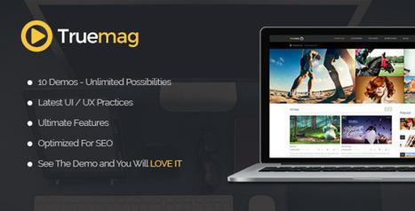 True Mag v2.7.1 Wordpress Theme for Video and Magazine | Free Themes Premium | Scoop.it