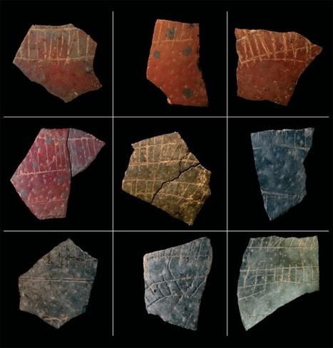Les fragments d'oeufs d'autruche gravés à la Préhistoire | Histoire - Antiquité | Scoop.it