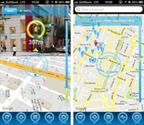 Clever iPhone App Brings Augmented Reality To Apple And Google Maps - Cult of Mac | realityAumentada | Scoop.it