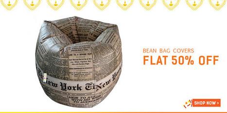 Flat 50% Off On Bean-Bag Covers | DribblingMan | Scoop.it