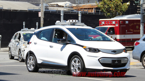 Autonomous Chevy Bolt spied in public | #Automotive #Applications | Scoop.it