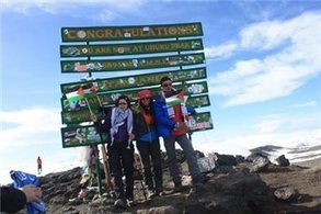 Palestinian teen amputees complete historic Kilimanjaro climb - Ma'an News Agency   Inspirational   Scoop.it
