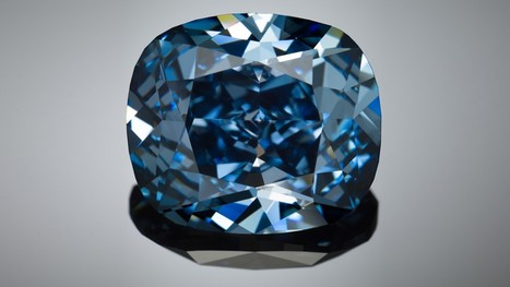 Rare 12-Carat 'Blue Moon' Diamond To Be Unveiled At L.A. Natural History Museum | Diamonds, Gold & Jewellery | Scoop.it